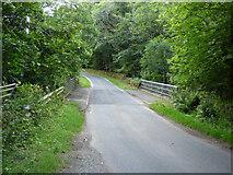 NR9379 : Bridge over the Kilfinan Burn by Thomas Nugent
