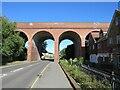 TQ4768 : Railway viaduct, St Mary Cray by Malc McDonald
