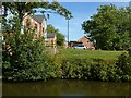 SP3380 : New housing alongside the Coventry Canal by Alan Murray-Rust