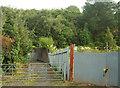 SX8962 : Entrance to Hollicombe substation by Derek Harper