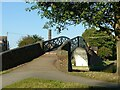 SP3684 : Hawkesbury Junction towpath bridge by Alan Murray-Rust