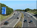 TQ5266 : M25 near Swanley by Malc McDonald