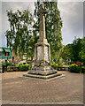NN9458 : Pitlochry War Memorial by David Dixon