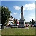 SP2382 : Cyclists War Memorial, Meriden Green by Gerald England