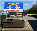SO6303 : Thank You to our NHS workers and all key workers, Lydney by Jaggery