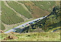 SO4494 : Cars parked in the Carding Mill Valley by Mat Fascione