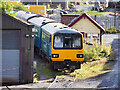 SD8010 : Pacer DMU at Buckley Wells (East Lancashire Railway) by David Dixon