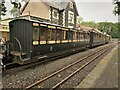 SH6038 : Victorian carriages at Minffordd by Richard Hoare