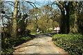 SX7863 : Approaching Huxham's Cross by Derek Harper