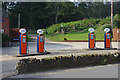 SU9039 : Old petrol pumps, Thursley by Ian Taylor