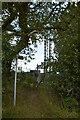 TR1049 : Footpath off Richdore Rd by mast by N Chadwick