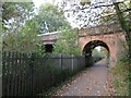 SE3056 : National Cycle Network route 67, Harrogate by Malc McDonald