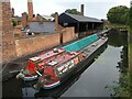 SO9491 : Canal basin at the Black Country Living Museum by Roger Cornfoot