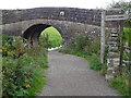 SK3056 : Canal bridge just along from Cromford Wharf by Andrew Shannon