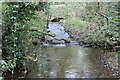 SN5104 : Stream below bridge on minor road by M J Roscoe