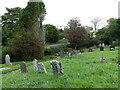 SN0310 : St Marcellus churchyard, Martletwy, Pembrokeshire by Ruth Sharville