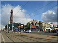 SD3035 : Blackpool seafront by Malc McDonald