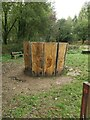 TQ7715 : Crown Sculpture in the Woods by John P Reeves