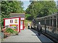 SZ5391 : Isle of Wight Steam Railway Wootton Station by Chris Allen