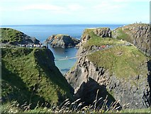 D0644 : Rope Bridge to Carrick-a-Rede Island by Paul Allison