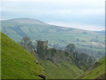SK1482 : Peveril Castle by George Griffin