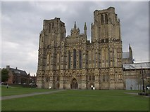 ST5545 : Wells Cathedral by Alan Simkins