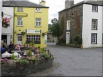 SD3598 : Hawkshead Village Centre: Cumbria by Pam Brophy