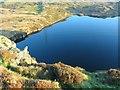 SH6438 : North End of Llyn Tecwyn Uchaf by Barry Hunter