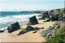 SW8469 : Bedruthan Steps by Paul Allison