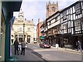 SO5174 : Town centre of Ludlow by David and Rachel Landin