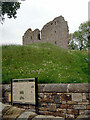 NY6566 : Thirlwall Castle by Andy Stephenson