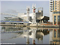 SJ8097 : The Lowry Centre, Salford Quays by Martin Clark