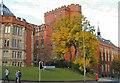 SK3487 : Sheffield University by Chris J Dixon