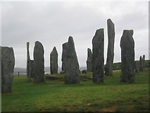 NB2133 : Calanais standing stones by Tom Pullman