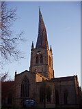 SK3871 : Chesterfield Crooked Spire by Alex Foster