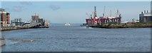 J3475 : Belfast Harbour by Michael Parry