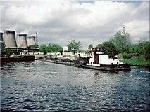 SE4824 : Ferrybridge by David Stowell