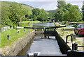 SD9320 : Sands Lock, Rochdale Canal by Martin Clark