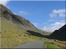 NY2114 : Honister Pass by Richard Webb