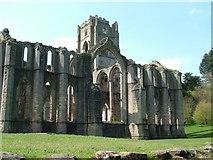 SE2768 : Fountains Abbey by Pete burnett