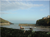 SW9980 : Port Isaac Harbour by phil smith