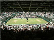 TQ2472 : Number One Court, Wimbledon by Stephen Dawson