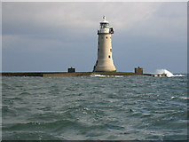 SX4650 : Lighthouse on Plymouth Breakwater by David Stowell