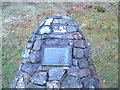 NN0359 : Memorial cairn near Ballachulish, Scotland. by Colin Wynne-Parle