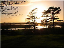 SH5727 : Sunset from Pen-sarn by Andrew McDonald