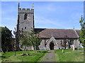 SO9851 : St. James's Church, Bishampton. by Richard  Dunn