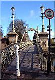 SO5139 : Victoria Footbridge by Ruth Harris