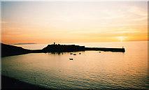 SC2484 : Peel Castle - Sunset by Steven Muster