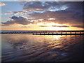 SZ9398 : Bognor Regis sunset by Carol Sowerby