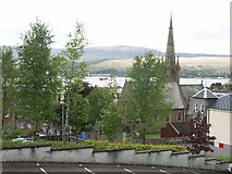 NN1073 : St Andrew's church by J M Briscoe